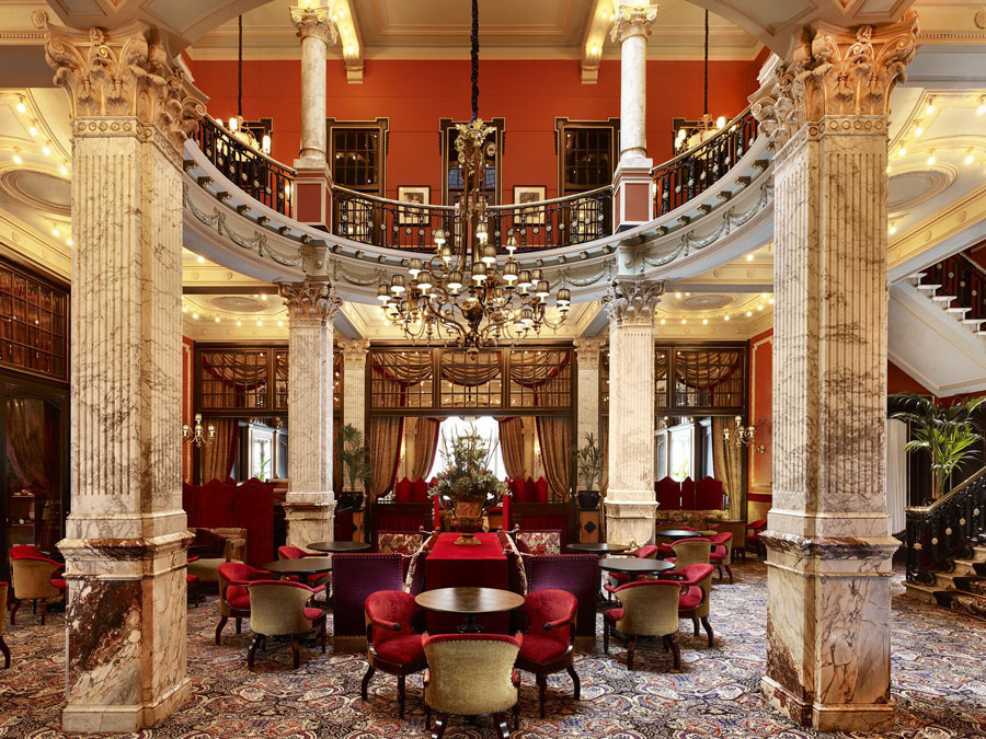 Lounge - Hotel Des Indes